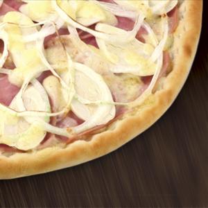 pizza presunto palmito brasiliana