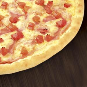 pizza presunto tomate brasiliana